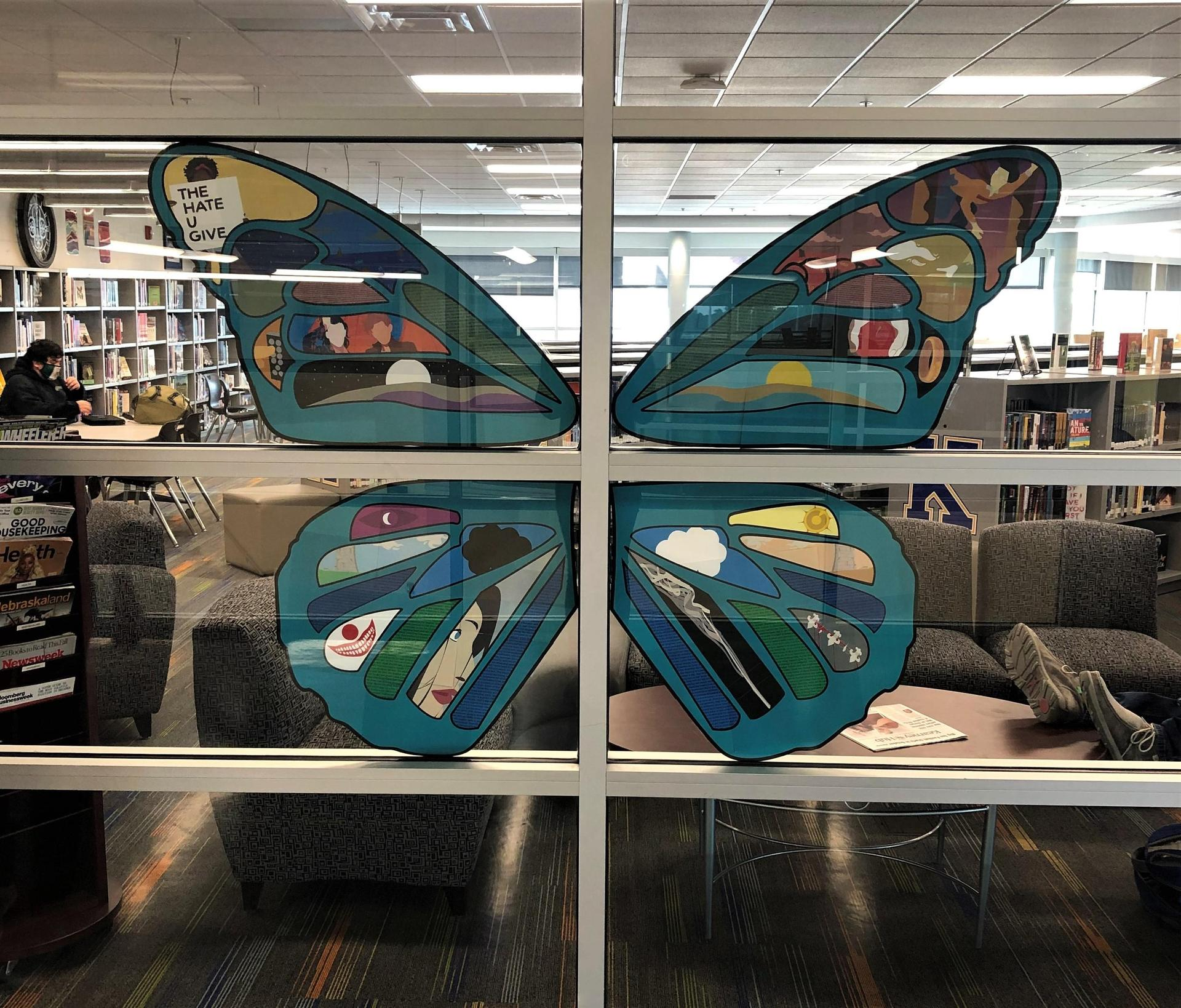Library Butterfly