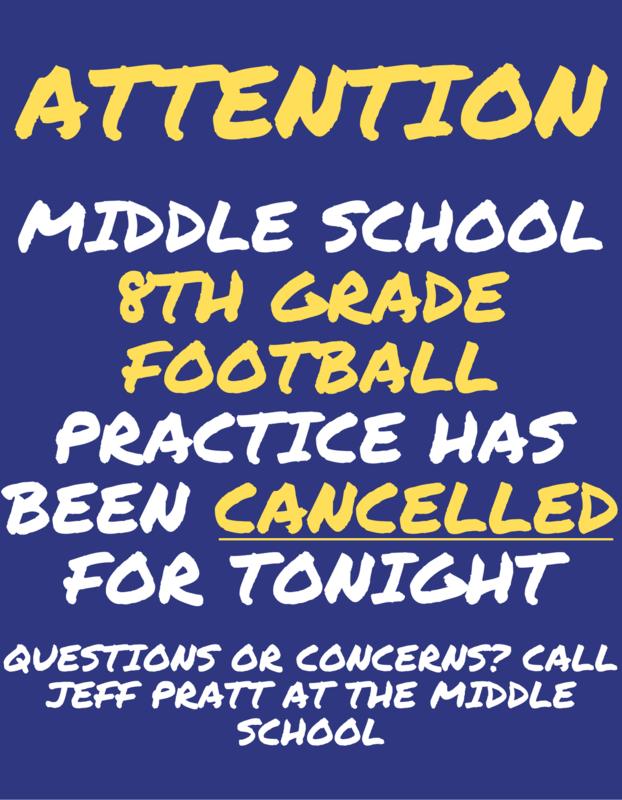 Football Cancelled