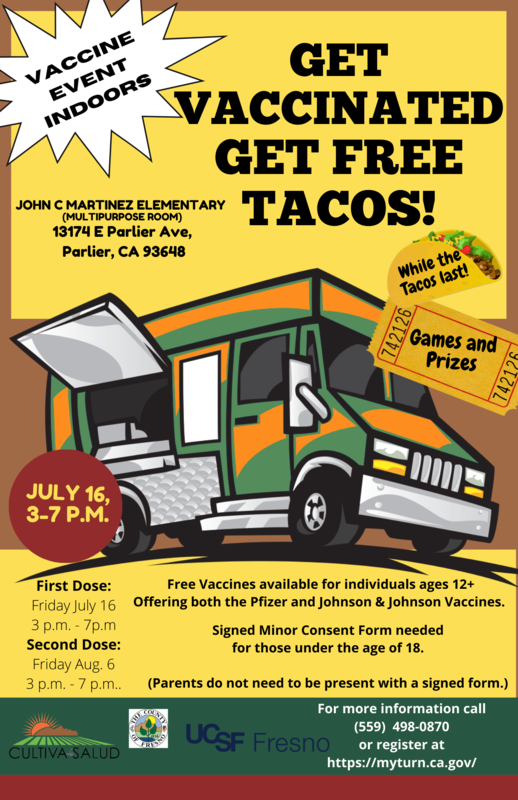 🌮Get Vaccinated, Get FREE Tacos! 🌮 Featured Photo