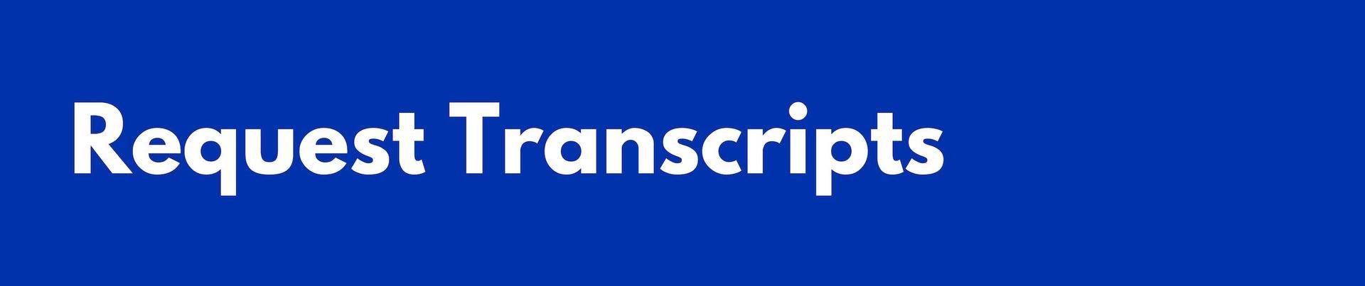 Request Transcripts Header