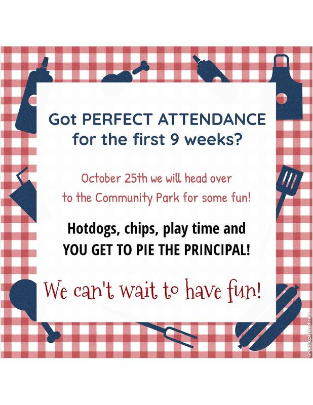 First 9 weeks perfect attendance party! Featured Photo