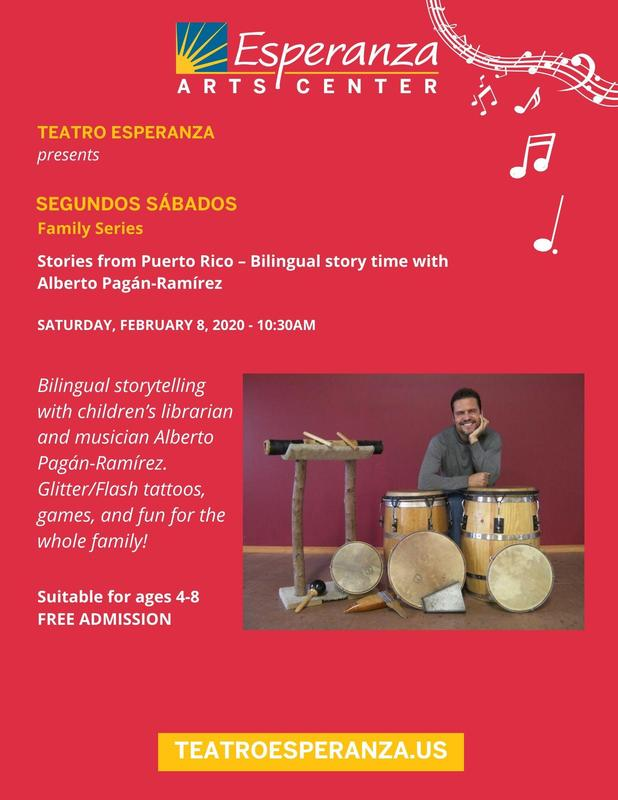 Stories from Puerto Rico - Bilingual Story Time with Alberto Pagan-Ramirez Featured Photo