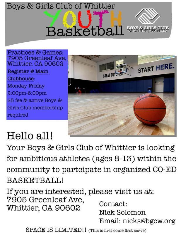 Youth Basketball - Eng