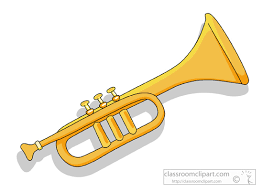 clipart of trumpet