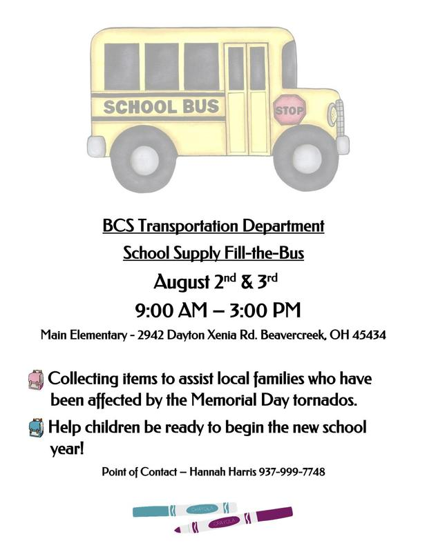 Fill The Bus for Tornado Victims