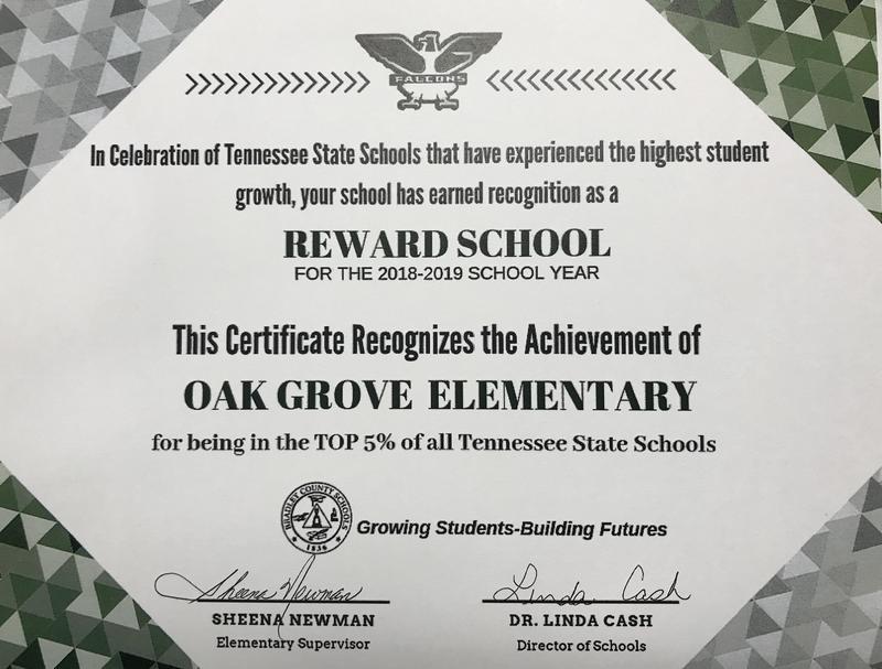Reward School Recognition Featured Photo