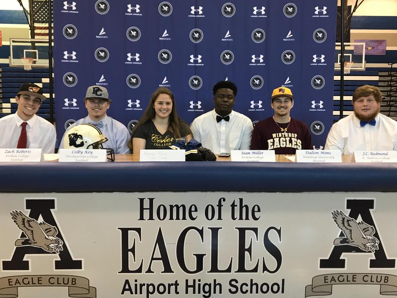 Airport High athlete signings