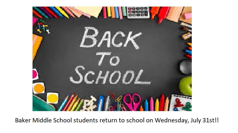 Baker Middle School - Schools - City of Baker School District
