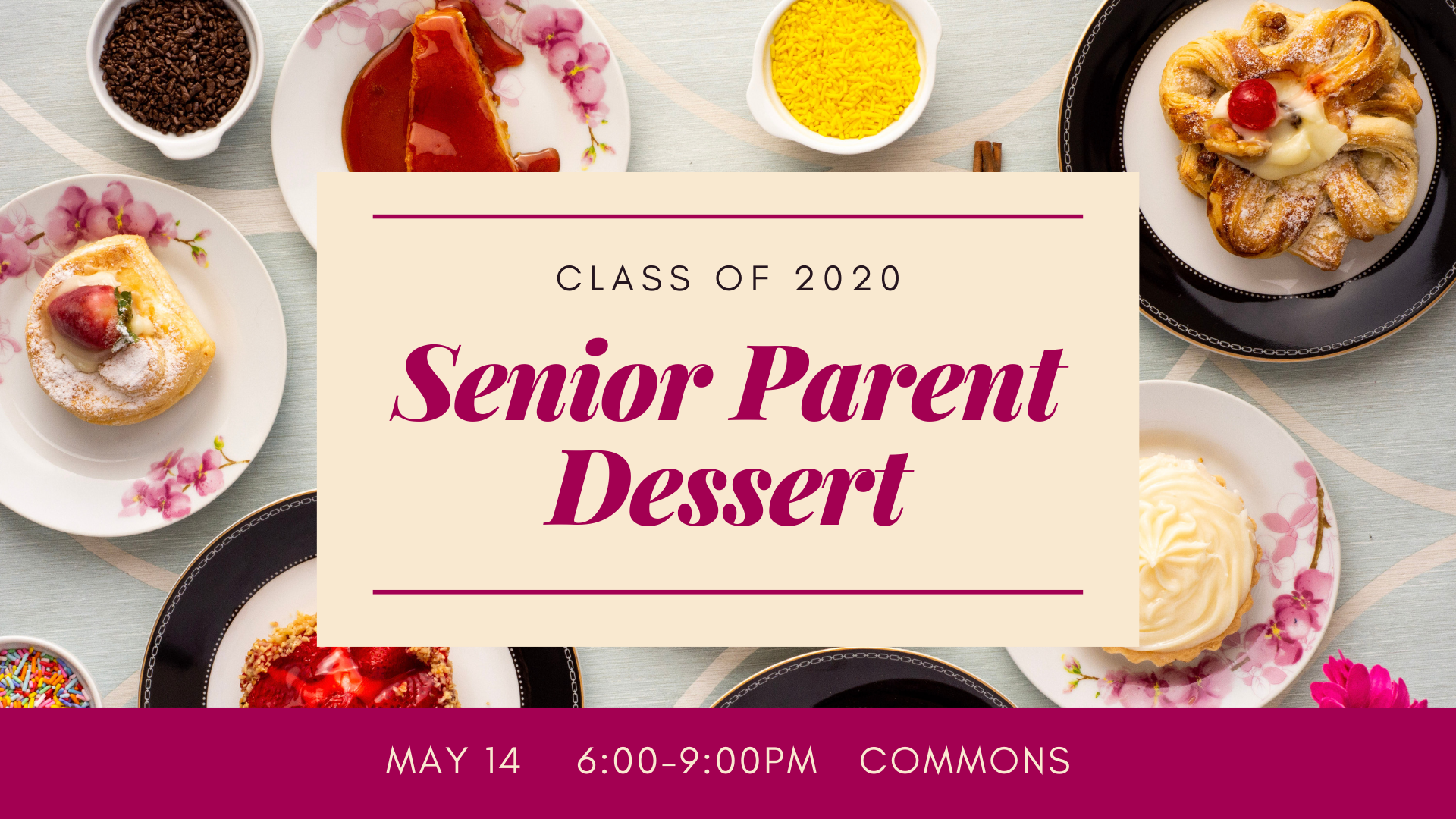 senior parent dessert