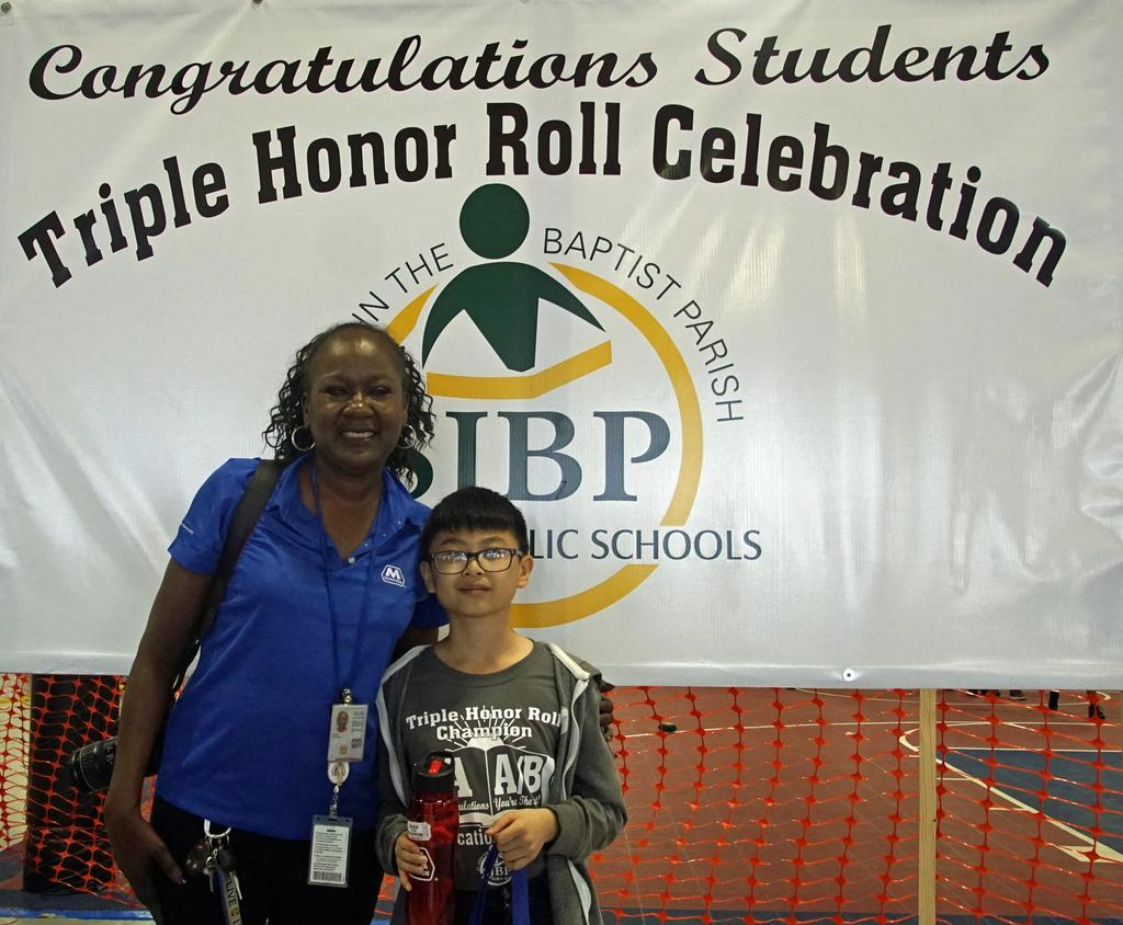 St. John the Baptist Parish Public Schools Honor Roll Celebration