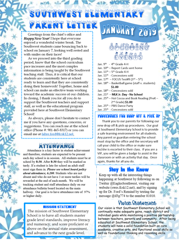 January 2019 Newsletter Thumbnail Image