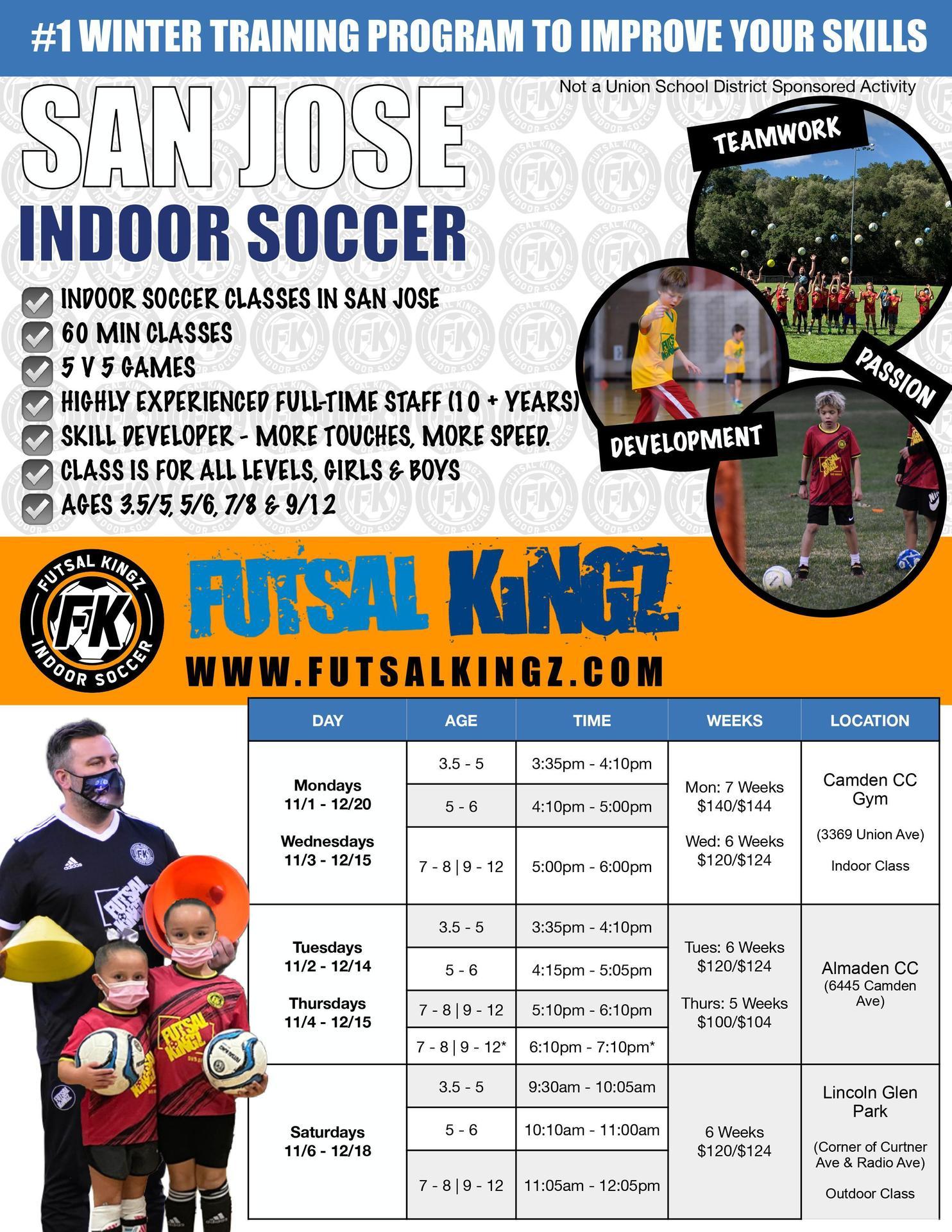 Futsal Kingz Soccer