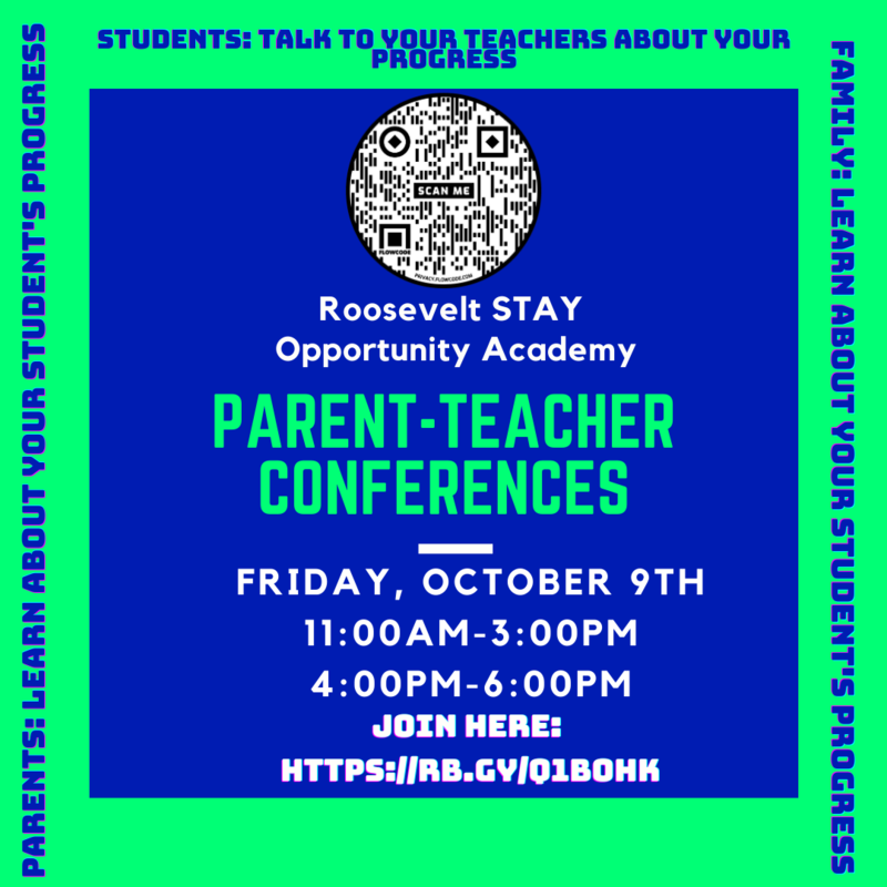 REMINDER!!! Parent-Teachers Conference is this Friday starting at 11:00am. Featured Photo