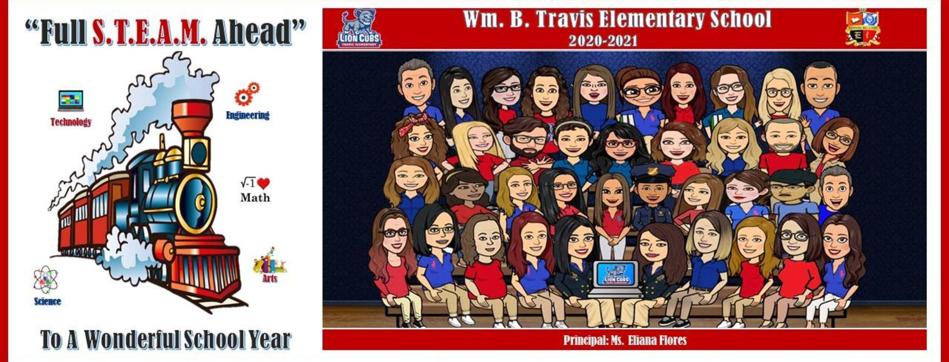 Travis Staff Bitmoji Pic