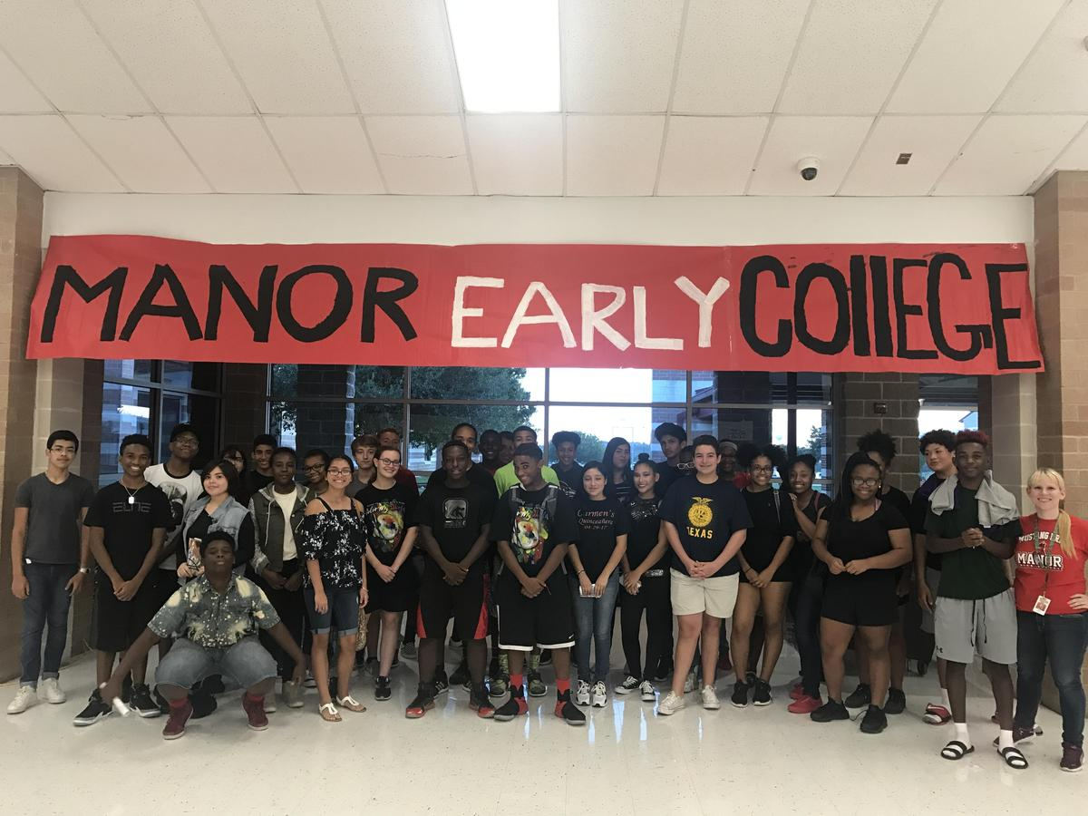Image result for manor early college high school logo