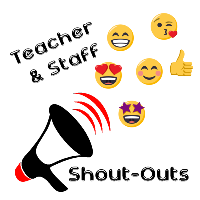 MLA Teacher/Staff Shout-Outs Featured Photo