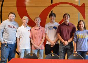 CHS Athletes on Signing day