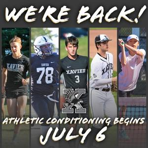Summer conditioning for 3 fall sports starts July 6