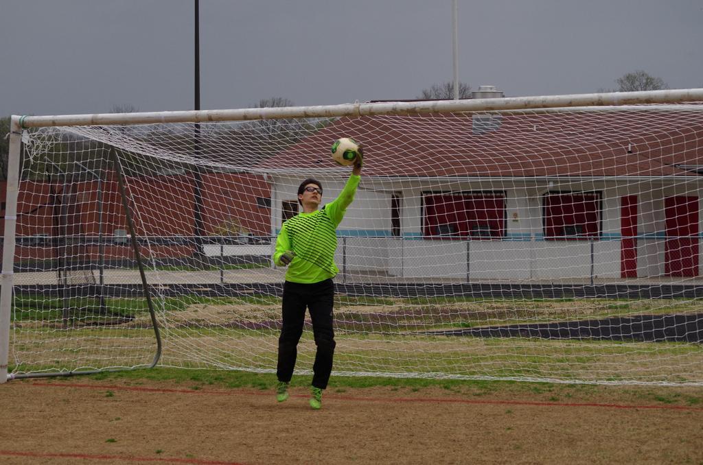 HHS Soccer - Goalie Catch