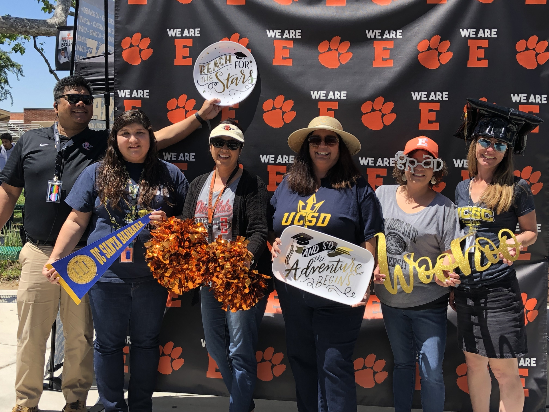 EHS Counselors at the 2019 College Commitment Day