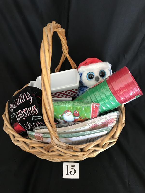Basket 15 Christmas Is Coming