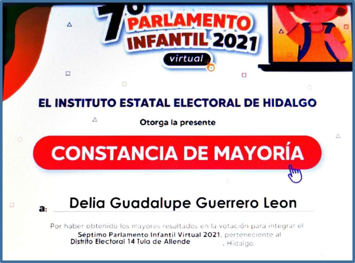 Séptimo Parlamento Infantil (virtual) IEE HIDALGO Featured Photo