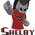West Valley High School's mascot logo