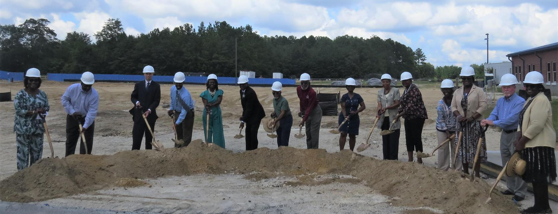 Groundbreaking Ceremony - New Career and Technology Education Center