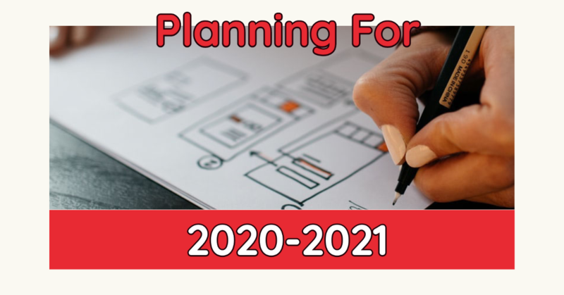Planning For 2020-2021
