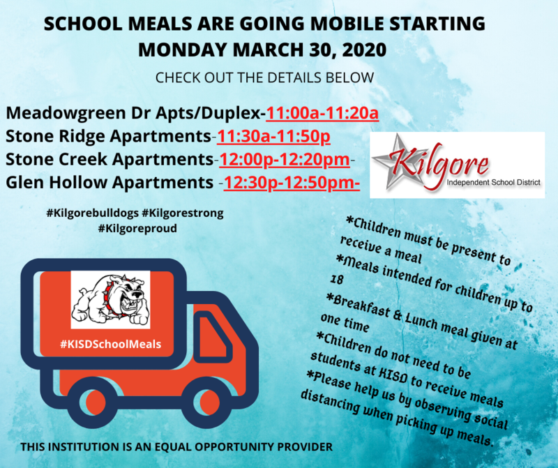 KISD Meal Service to Include Additional Sites Featured Photo