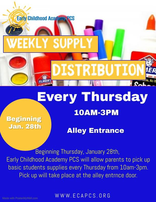 Weekly Supply Distributions Featured Photo