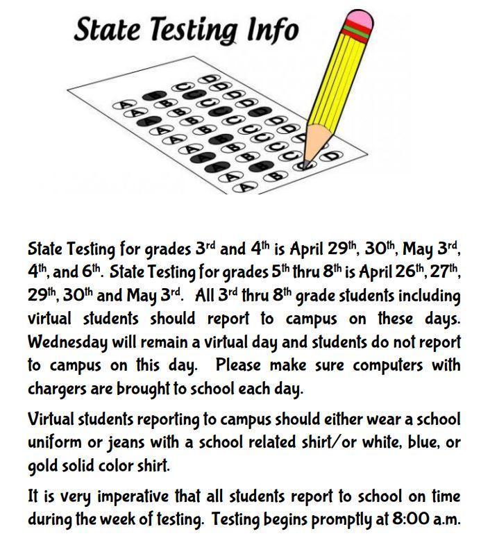 STATE TESTING Thumbnail Image