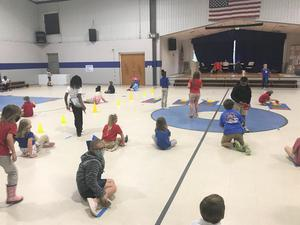 Southeast Elementary Indoor P.E. Photo