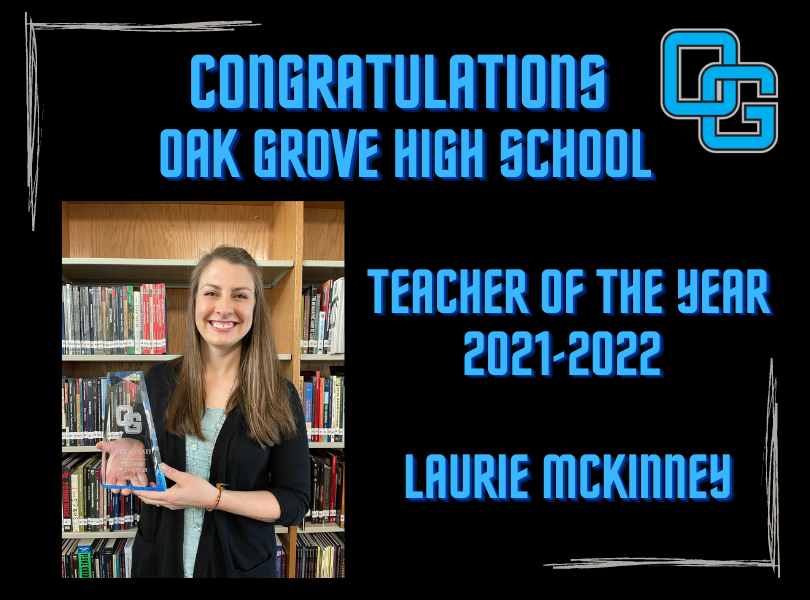 OGHS Teacher of the Year 2021-2022: Laurie McKinney
