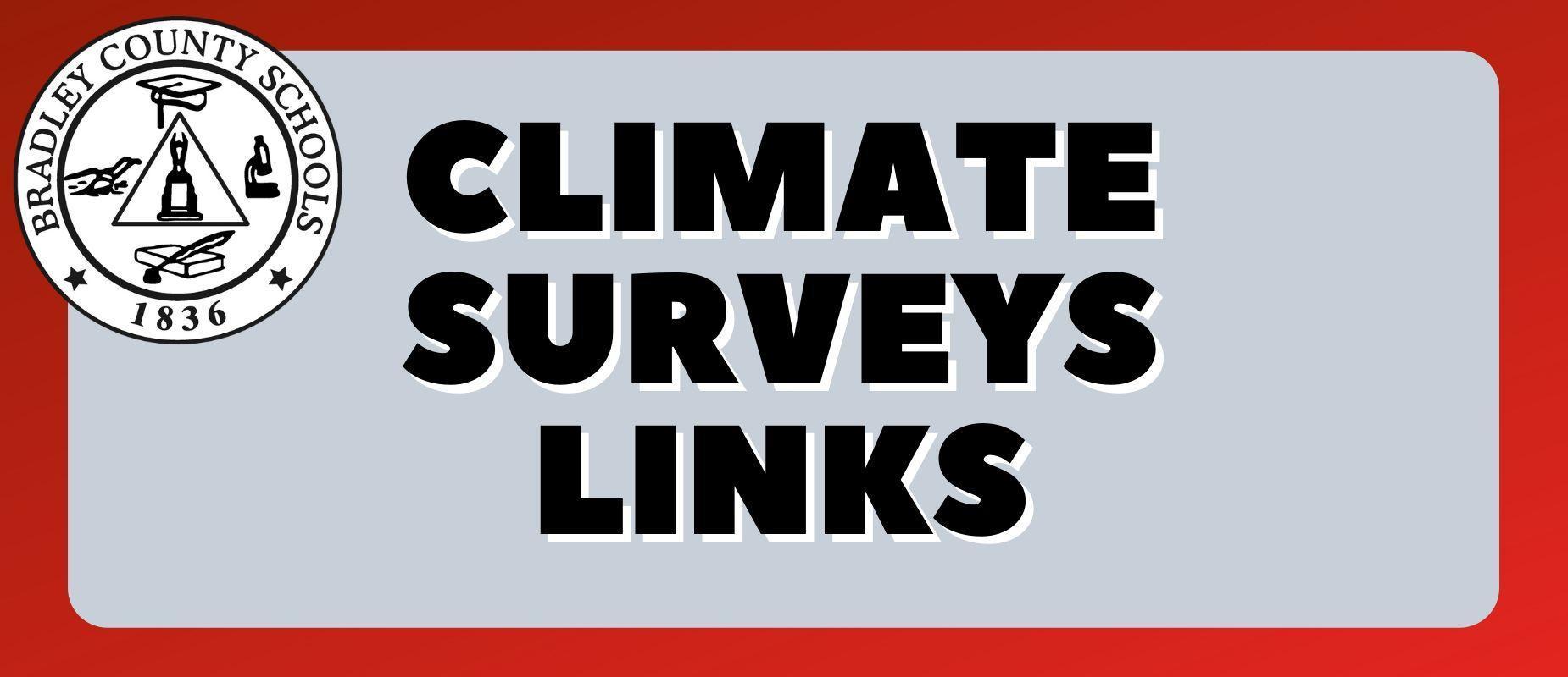 Climate Survey Links