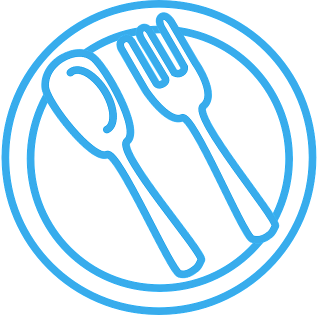Image of Plate Spoon and Fork