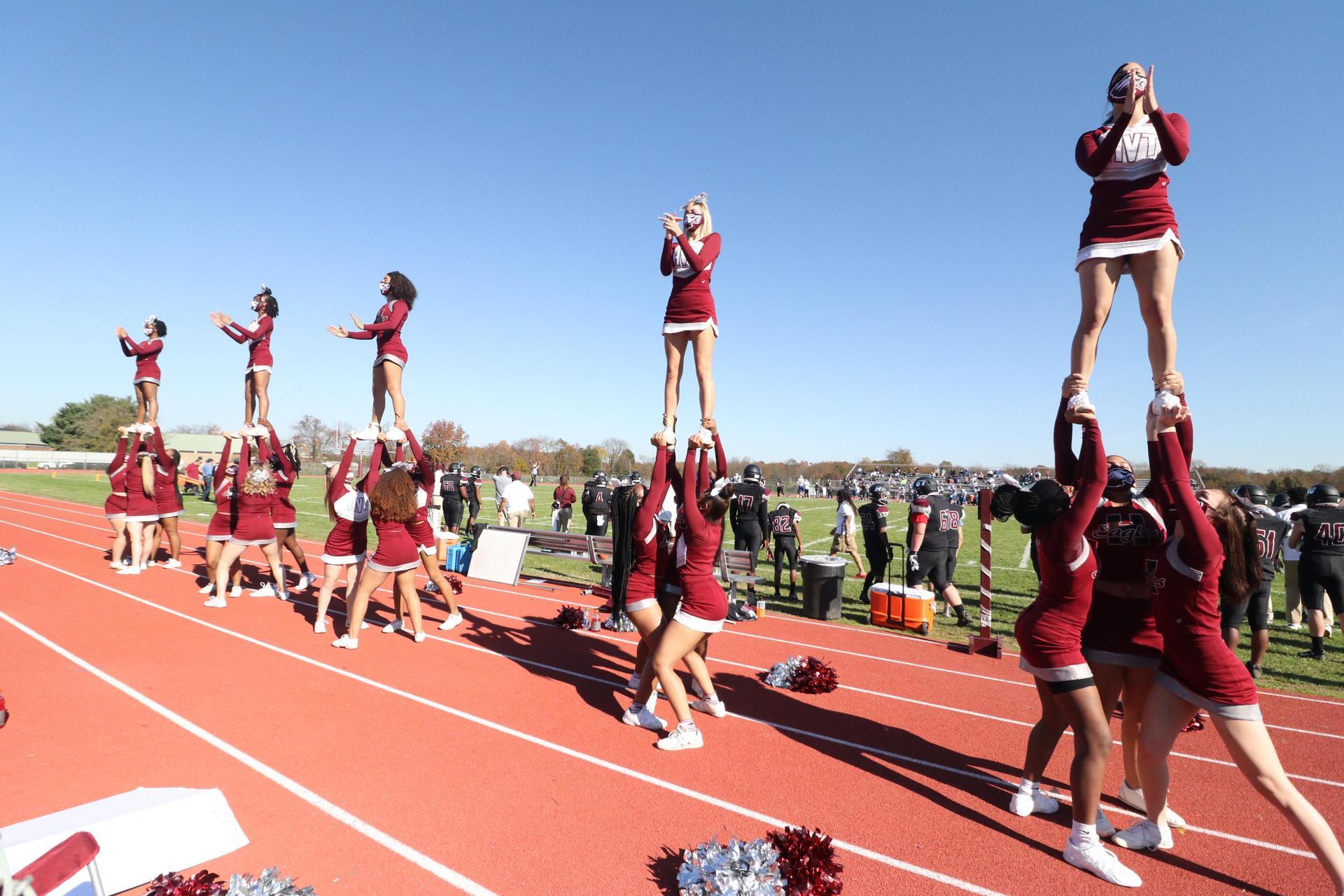 Hodgson Cheerleaders