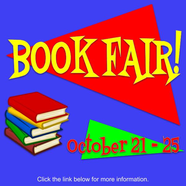 Book Fair! October 21-25 Featured Photo