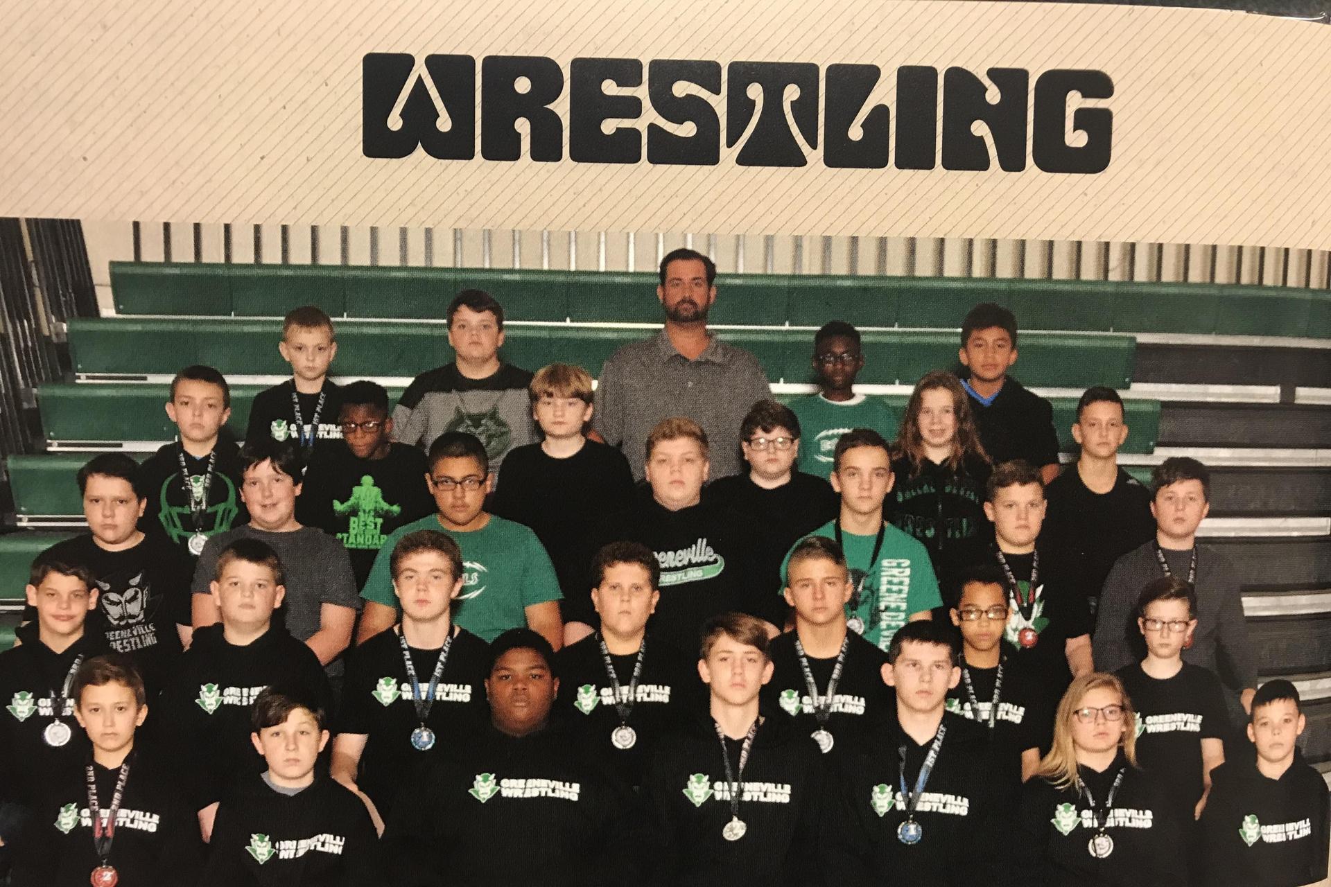 2018-2019 GMS Wrestling Team