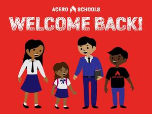 welcome back students and teachers cartoon