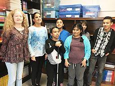 Schermerhorn student help AFB with outreach project