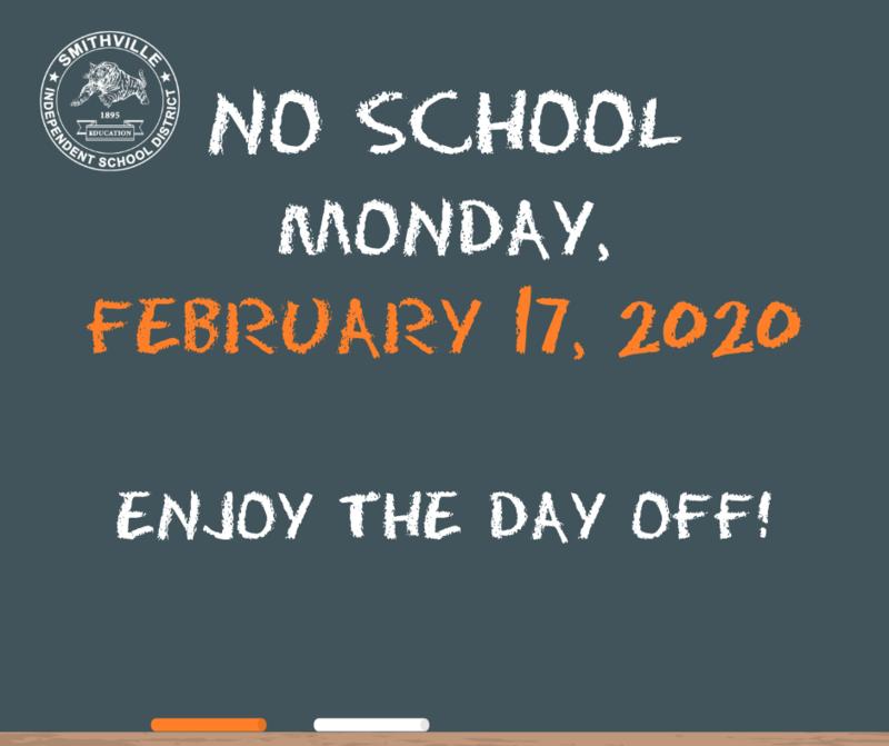 No School on Feb. 17