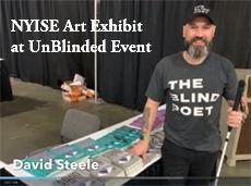 NYISE Art Exhibit at the UnBlinded Event