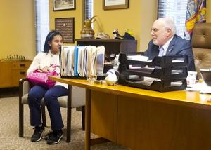 Aoliana at NYS Assembly Member Michael Benedetto's office