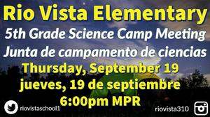 Science Camp Meeting Image