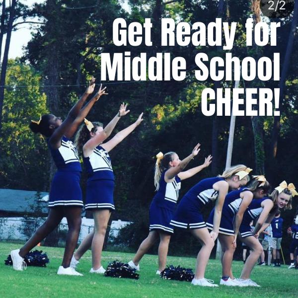 Middle School Cheer
