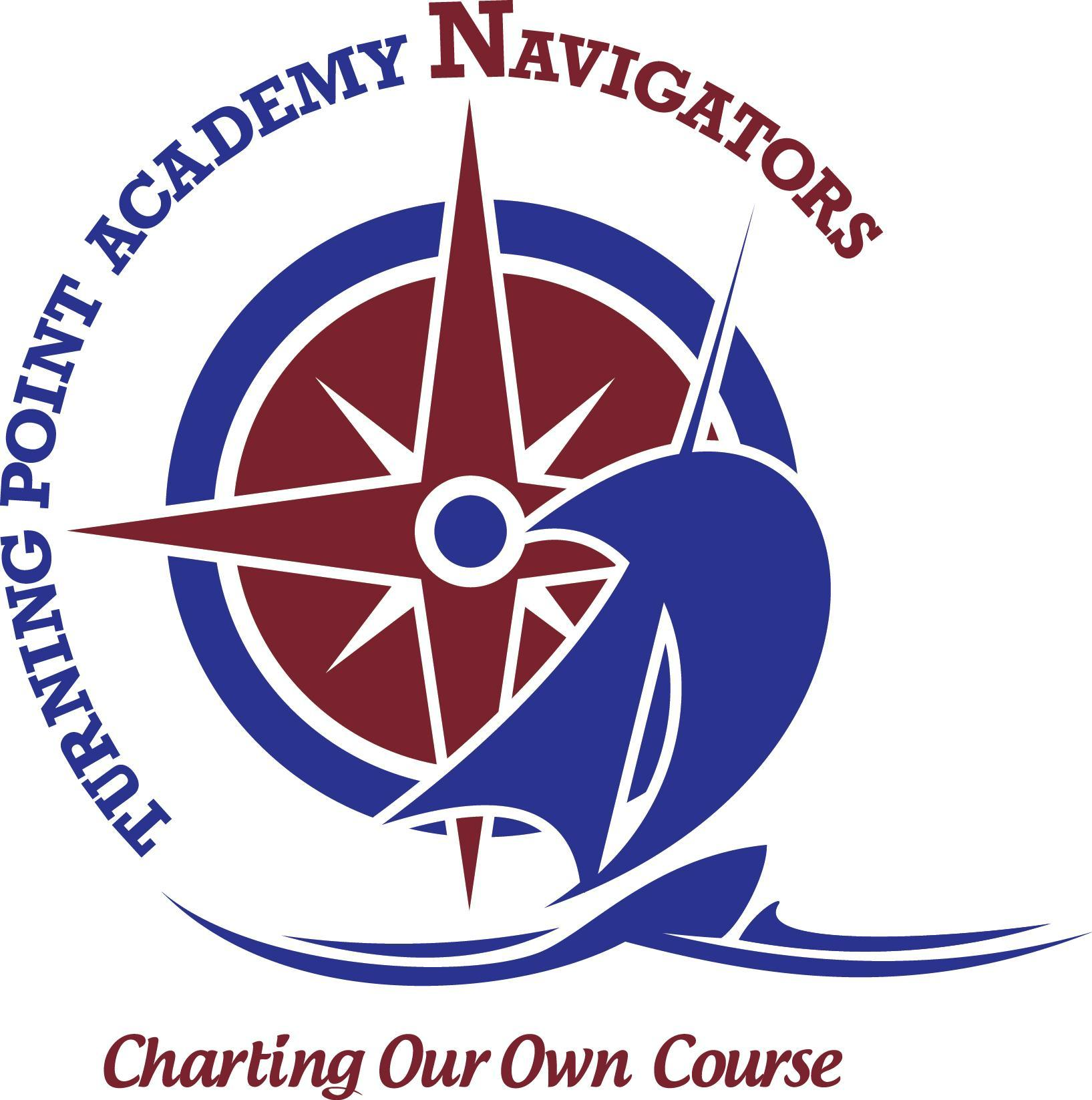 Turning Point Academy Logo Charting Our Own Course