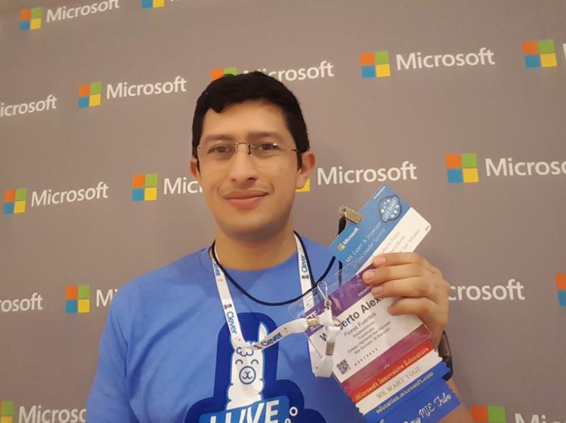 Coordinador de tecnología educativa del Colegio Highlands San Salvador es reconocido como Microsoft Innovative Educator Expert Featured Photo