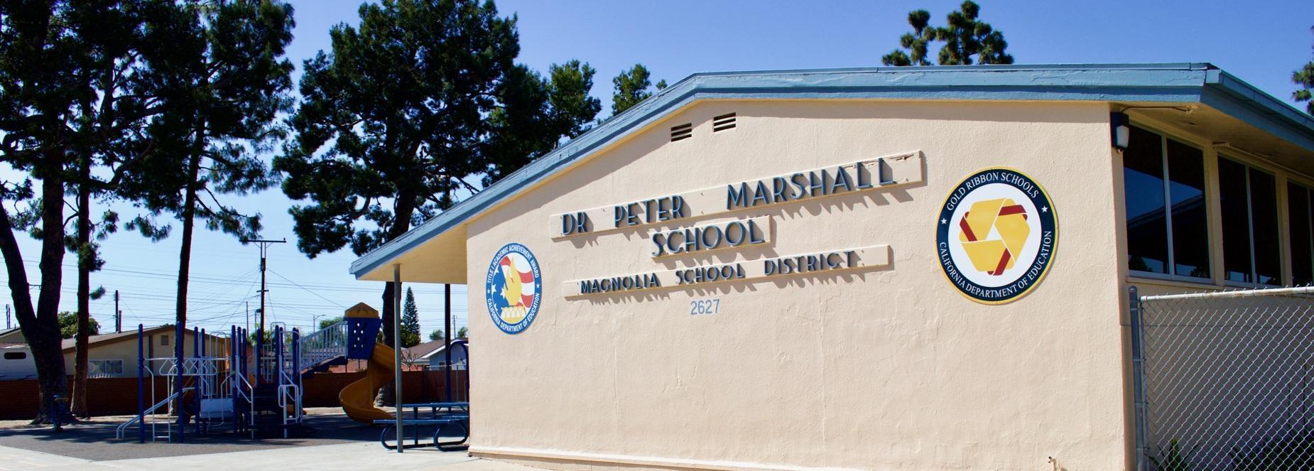 Dr  Peter Marshall School