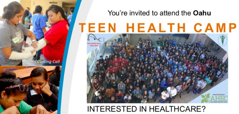 TEEN HEALTH CAMP Featured Photo